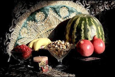 سنت های شب یلدا مردم آذربایجان شرقی