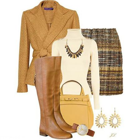 زیباترین مدل های ست چکمه و لباس زمستانی زنانه
