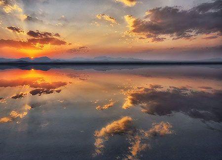سفر به آینه طبیعی زیبا در کرمان