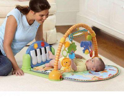 بازی های جالب با نوزادان چند ماهه