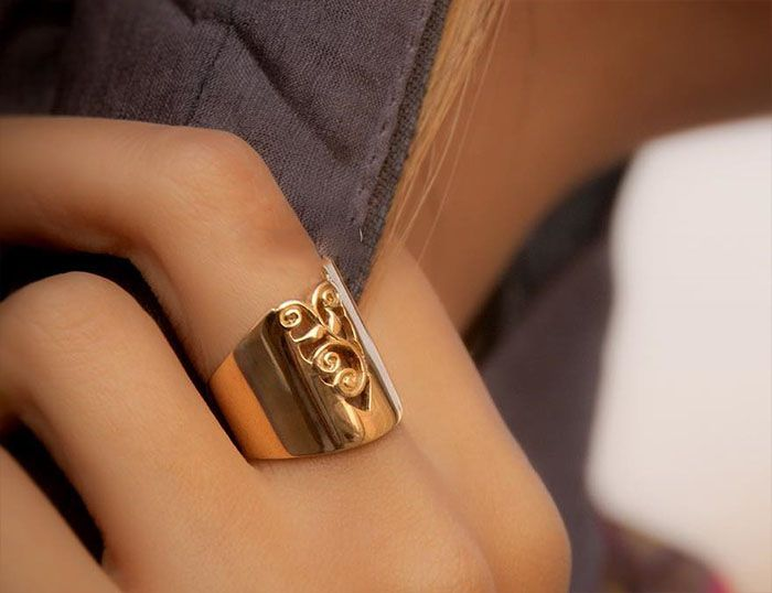 مدل های زیبای انگشتر طراحی جدید از برند بنیتا