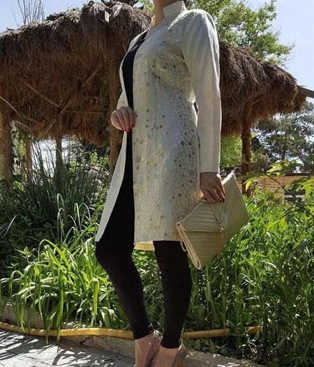 زیباترین مدل مانتوهای ایرانی جدید 96