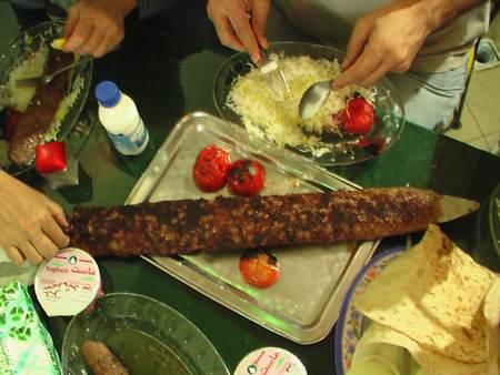 درباره چلوکباب غذای مورد علاقه ایرانی ها