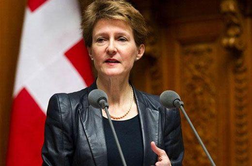 سوئیس و بانوان در سمت رئیس جمهور
