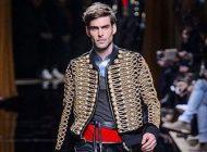 مدل لباس مردانه زمستانی Balmain 2017