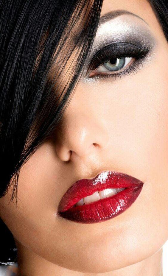 مدل آرایش لب و صورت ،مدل آرایش چشم و ابرو