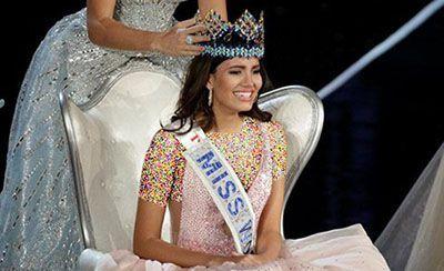 بانوی جذاب برنده دختر شایسته جهان در 2016