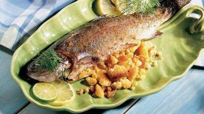 بهترین دستور پخت ماهی شکم پر خوشمزه