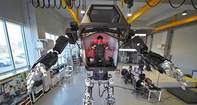 ربات جنگجو در کره جنوبی رونمایی شد