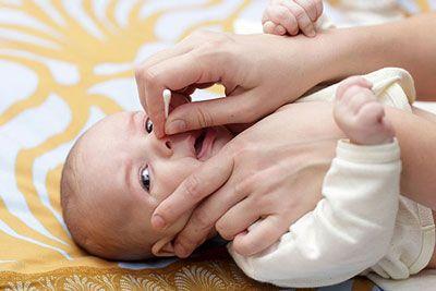 گرفتن بینی کودکان و راه رفع کردن آن