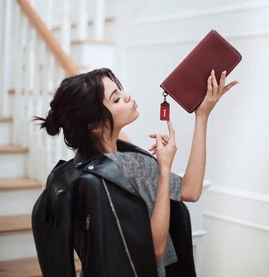 عکس های سلنا گومز مدل تبلیغاتی برند Coach