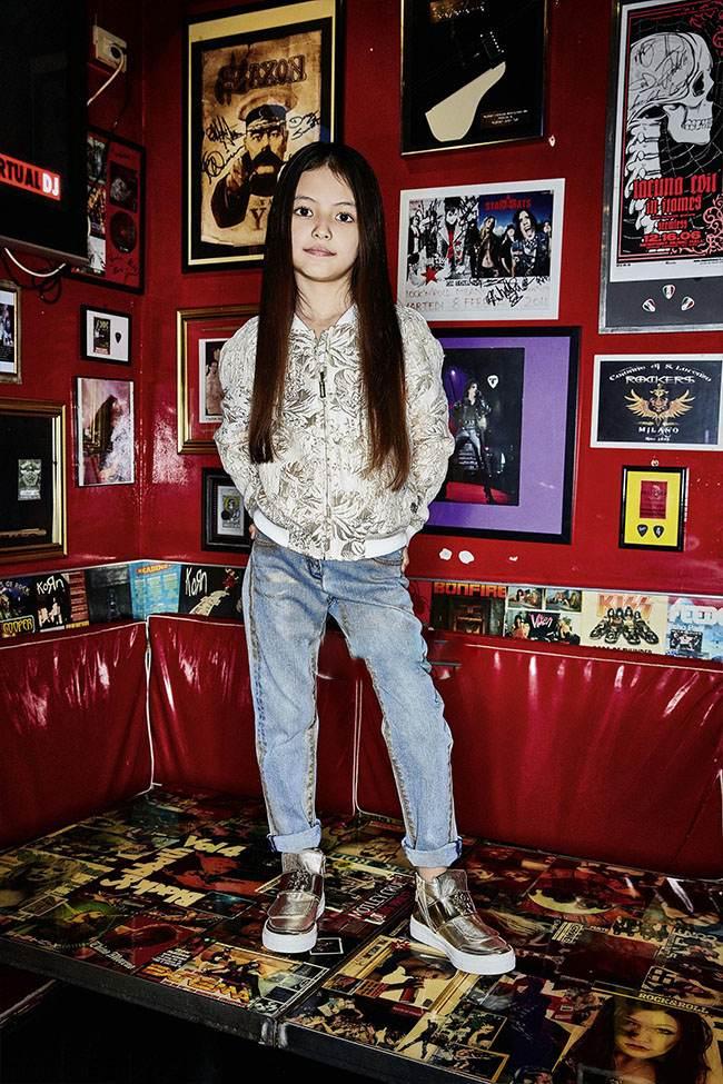 مدل لباس بچگانه دخترانه از Roberto Cavalli
