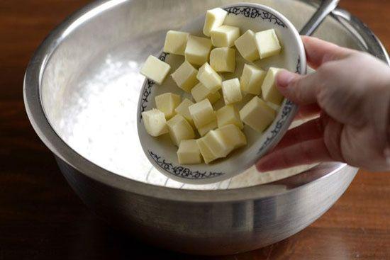 آموزش پخت کیک مرغ پنیری خوش طعم