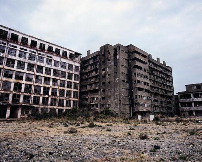 جزیره هاشیما شهر ارواح کشور ژاپن