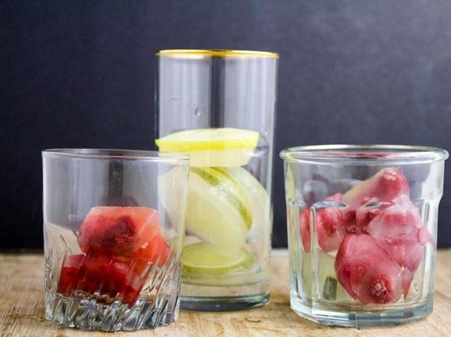 حبه یخ های شگفت انگیز برای نوشیدنی شما