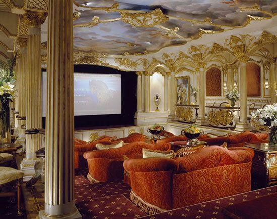 قصر زیبا و سوپرلوکس محمد حدید در لس آنجلس