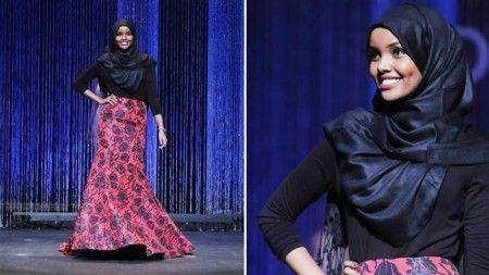 مدل زیبا و جذاب با حجاب در مراسم دختر شایسته