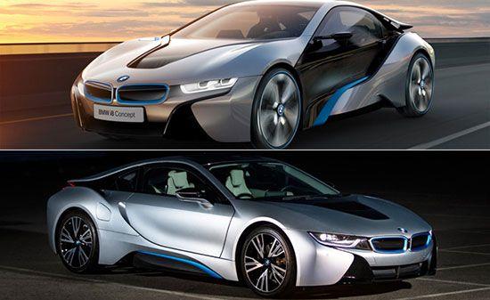 خودروهای کانسپت که به مرحله واقعیت رسیدند