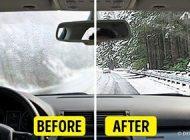 ترفند بخار نکردن شیشه خودرو در زمستان