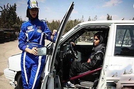 رالی آقایان و خانم ها به صورت مختلط در تهران
