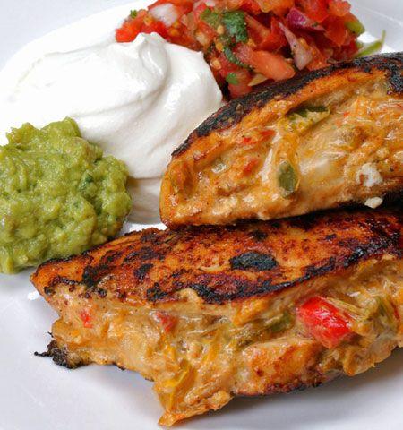 آموزش تهیه مرغ شکم پر به سبک مکزیکی ها