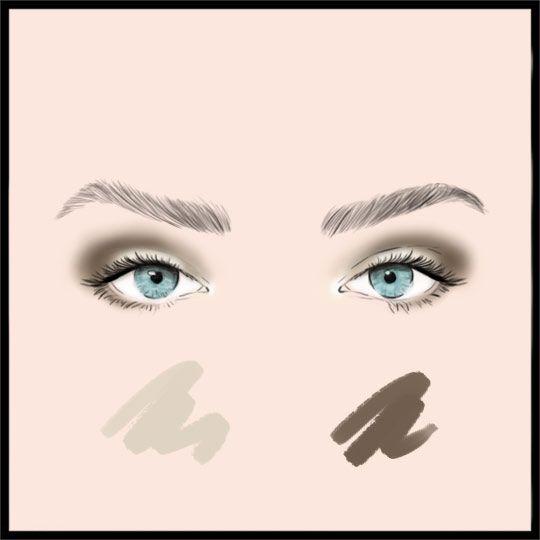 برای سایه چشم این ترکیبات رنگی را بکار ببرید