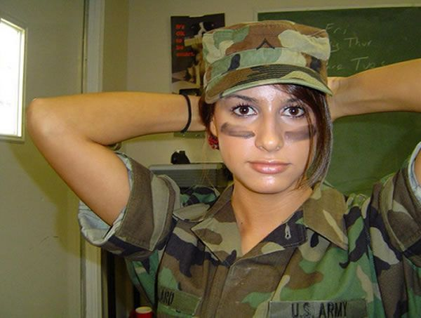 عکس دختران زیبا در ارتش کشورهای مختلف