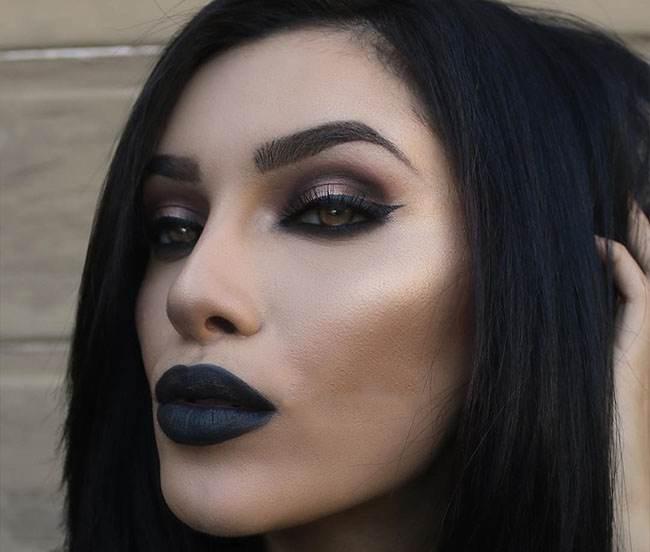 مدل های جدید آرایش صورت از LuridFoxx