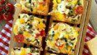طرز پخت پیتزا فوری با نان تست خوشمزه