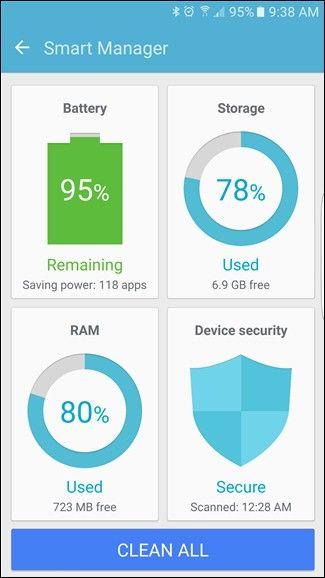 آزادسازی حافظه سامسونگ با Smart Manager