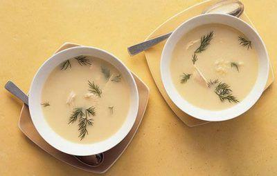 آموزش تهیه سوپ مرغ و لیمو به سبک یونان