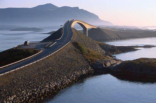 ایمن ترین جاده های جهان را بشناسید