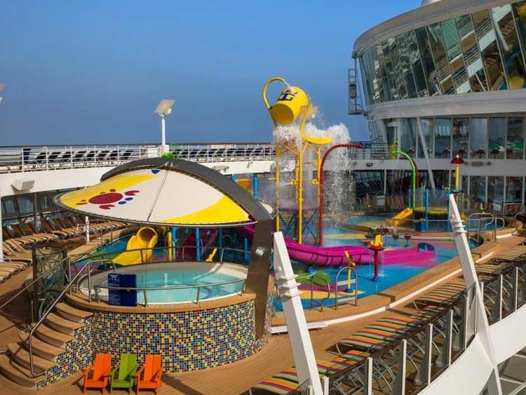 عظیم ترین کشتی تفریحی لوکس جهان