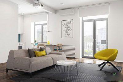 بهترین دکوراسیون آپارتمان کوچک و زیبا