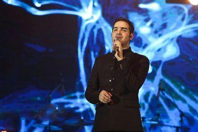 عکس های محسن یگانه در کنسرت به وقت پاییز