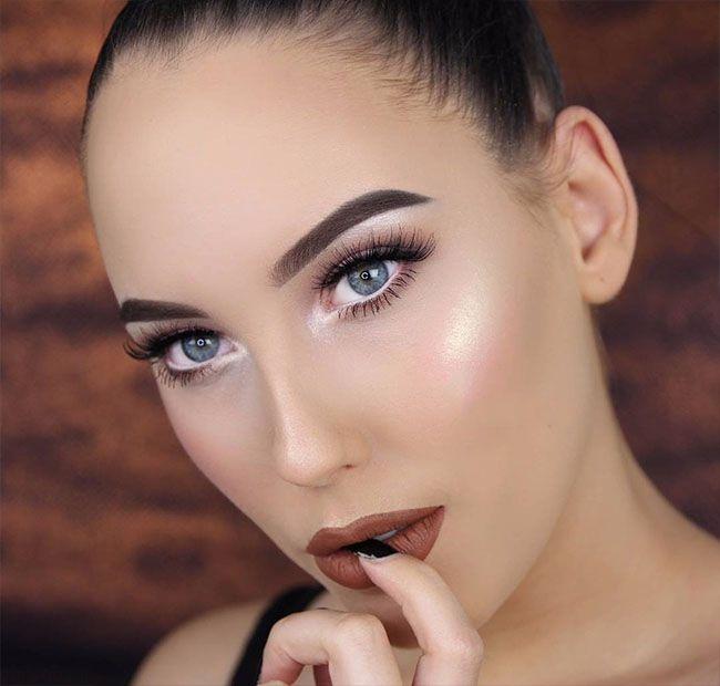 مدل های آرایش صورت مجلسی از An Knook
