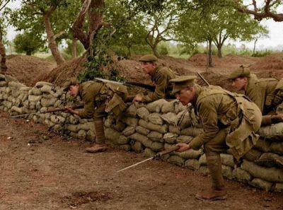 عکس های رنگی و کمیاب از جنگ جهانی اول