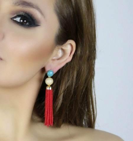 مدل های گوشواره زیبا از برند RM Atelie