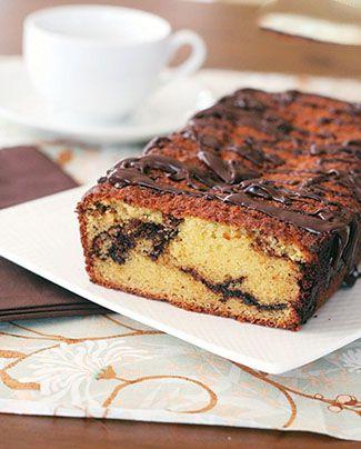 آموزش تهیه کیک پرتقالی کاکائویی خوشمزه