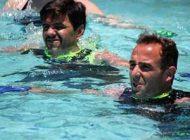 انجام ورزش در آب و بهبود جریان خون