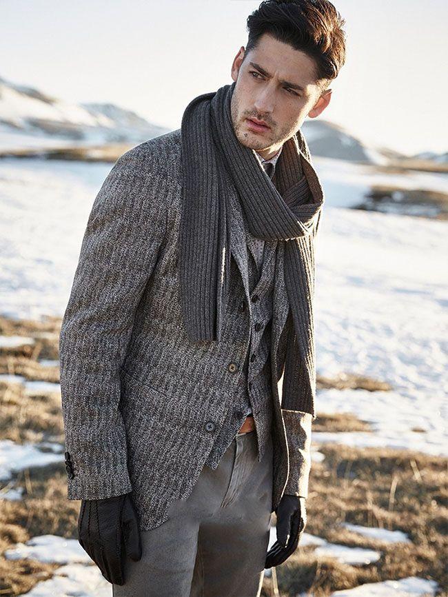 لباس زمستانی مردانه از برند Baldessarini