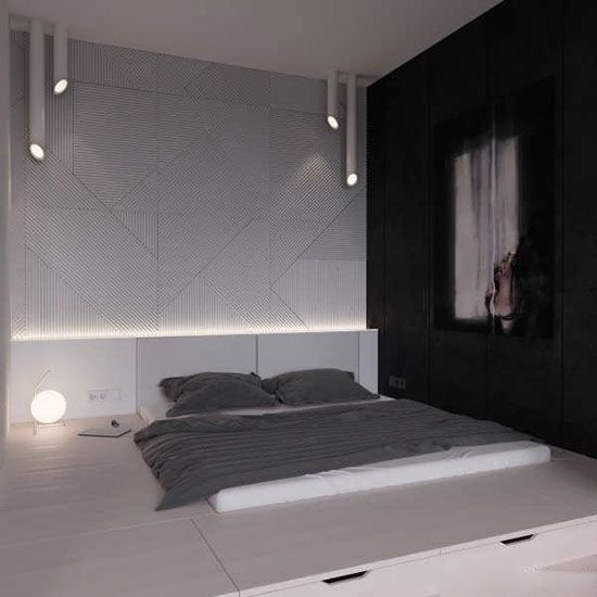 دکوراسیون مینیمال زیبا و آرامش بخش اتاق خواب