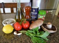آموزش تصویری طرز تهیه قارچ شکم پر به روش جدید