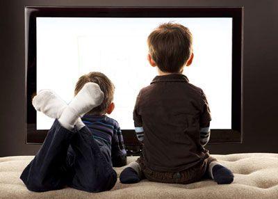 برای تماشای تلویزیون فرزندان زمان بگذارید