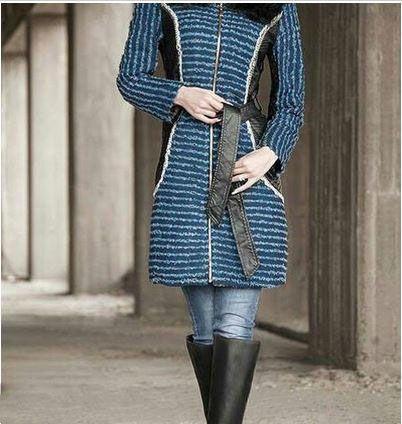 جدیدترین مدل های مانتو زمستانی زیبا