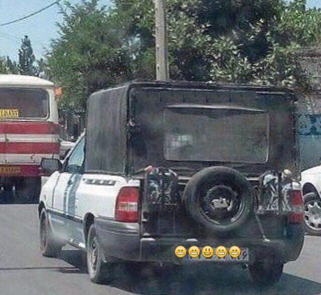 بهترین عکس های سوژه خنده دار فقط در ایران (129)