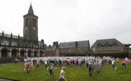 فستیوال جالب کف بازی دخترها و پسرها در اسکاتلند