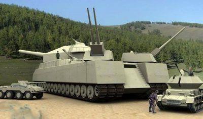 تانک افسانه ای هیتلر که ساخته نشد