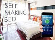 رختخواب هوشمندی که خودش مرتب می شود