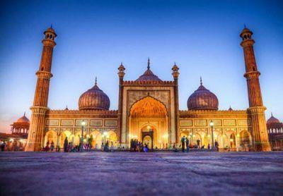 نگاهی به مسجد جامع دهلی زیبا و دیدنی
